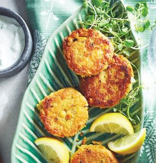 vegetarian chickpea patties