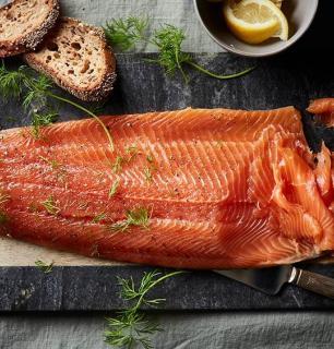 trout gravlax