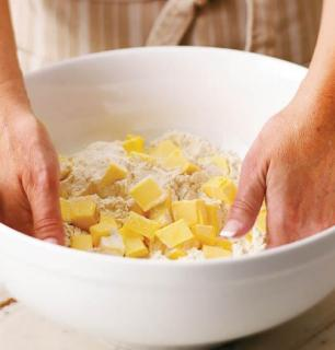 Pâte brisée au beurre ou au saindoux