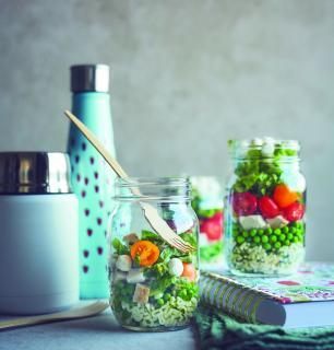 salade en pot pour enfant