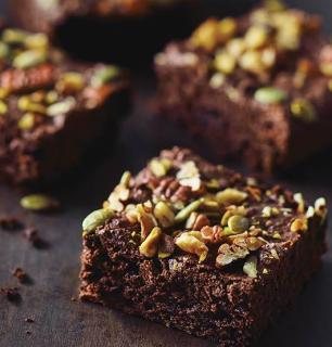 brownies véganes sans farine de blé